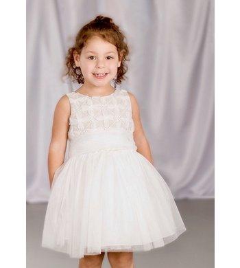 Amaya dress crudo tostado offwhite