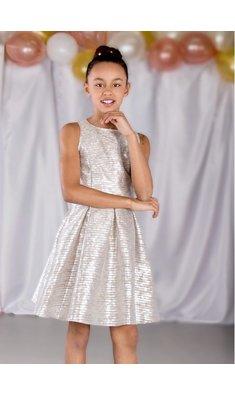 Rumbl Royal jurkje tifany taupe zilver bestseller