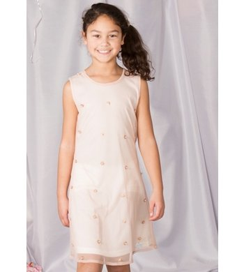 LoFff Dress Arabella Strawberry - Off white - flowers