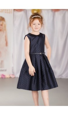 Happy Girls party dress blue