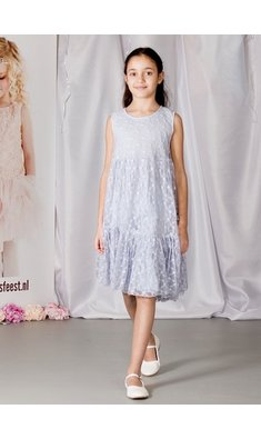Creamie dress tulle celestial blue