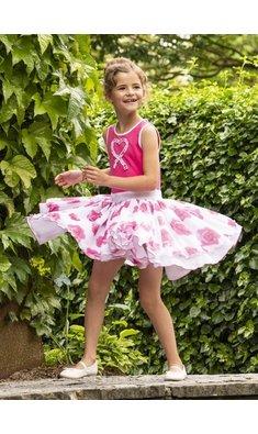 LoFff dancing dress pink roses