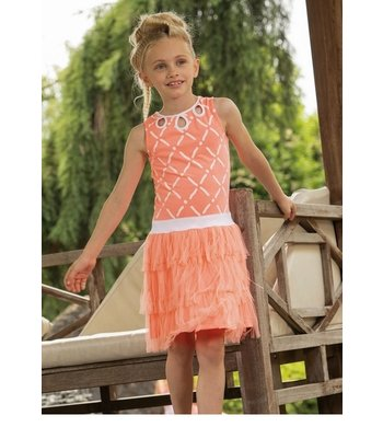 LoFff jurk Afrodite peach