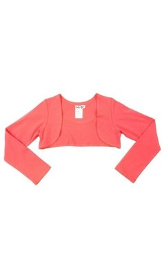 LoFff basic bolero bright peach