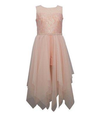 Bonnie Jean party dress peach
