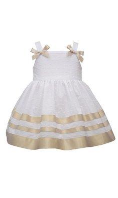 Bonnie Jean party dress white