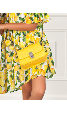 Abel & Lula bag yellow
