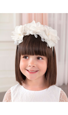 Abel & Lula headband white