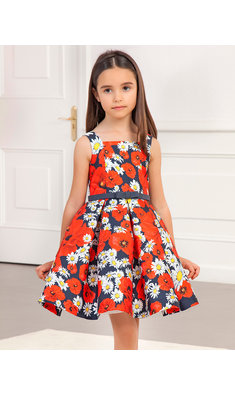Abel & Lula daisy dress multi