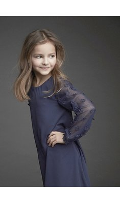 Creamie party dress dark blue