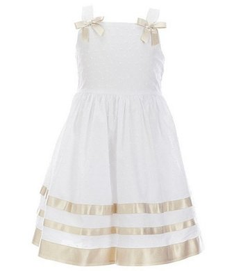 Bonnie Jean party dress white
