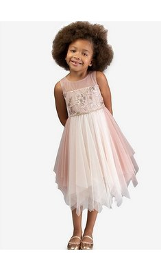 Bonnie Jean party dress pink