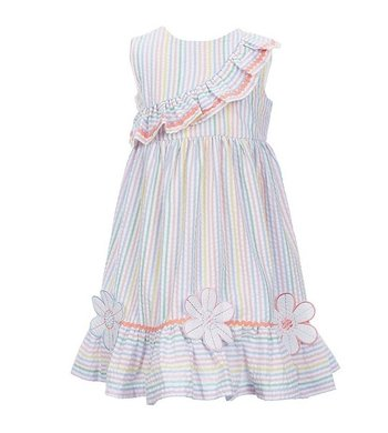 Bonnie Jean dress seersucker multi