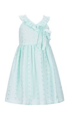 Bonnie Jean eyelet dress mint