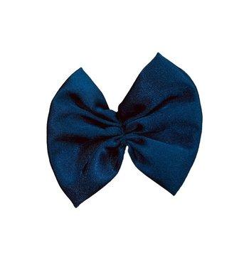 Party haarspeldje strikje blauw