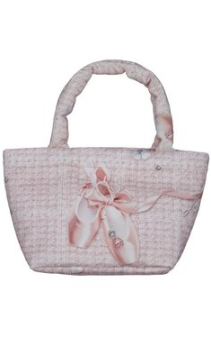 Lapin House handbag with balletshoes pink
