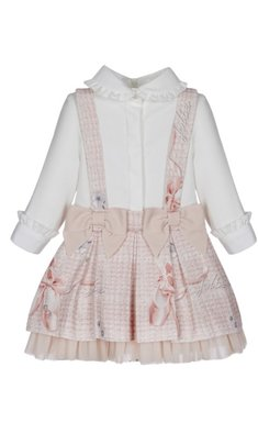 Lapin House dress balleshoes pink