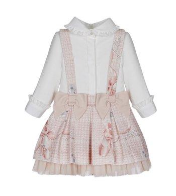 Lapin House jurkje met balletschoentjes roze