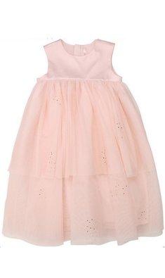 Billlieblush empire jurkje rosegouden glitters roze