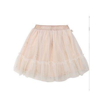 Billlieblush mesh skirt rosegolden glitter pink