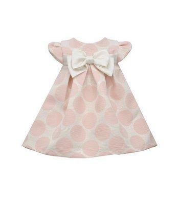 Bonnie Jean Dottie jurk polka dot roze