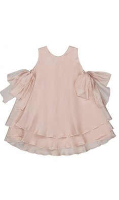 Amaya party dress powder pink