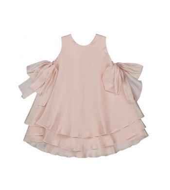 Amaya party dress powder pink
