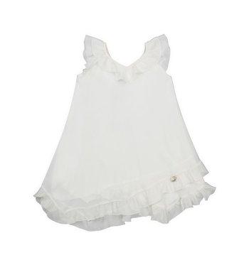 Amaya dress offwhite