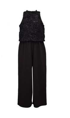 Bonnie Jean jumpsuit black