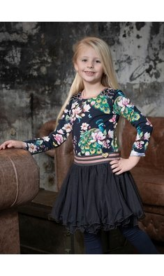 LoFff dress Dance Dance Dance peacock black multi