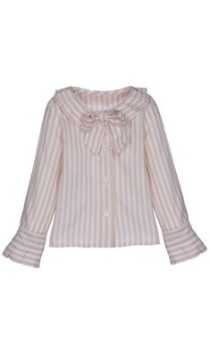 Lapin House blouse striped pink