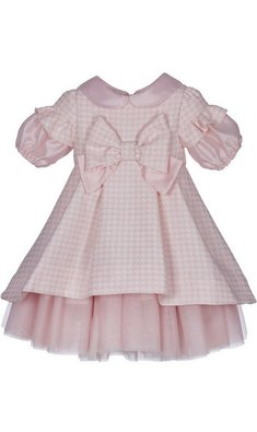 Lapin House dress checkered pink