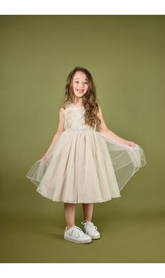 Bonnie Jean Faith tule party dress
