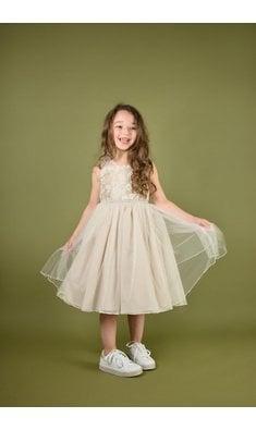 Bonnie Jean Faith tule party dress