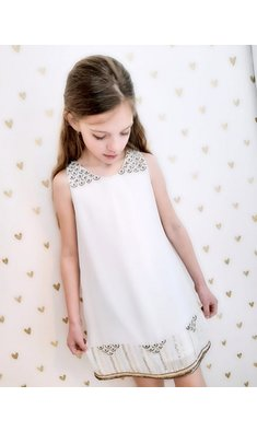 Derhy Kids dress malorie offwhite