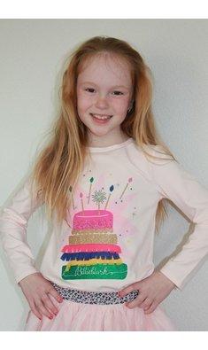 Billlieblush shirt cake longsleeve pink