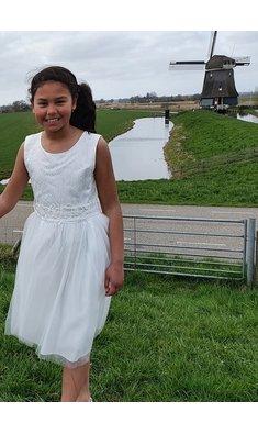Happy Girls jurk bruidsmeisje offwhite