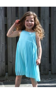 UBS.2 pleated dress aqua
