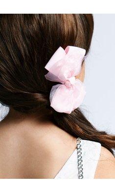 Abel & Lula hairclip silver  pink