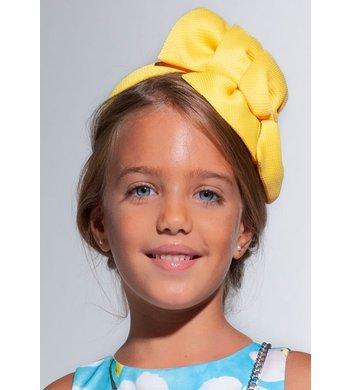 Abel & Lula headband double loup yellow