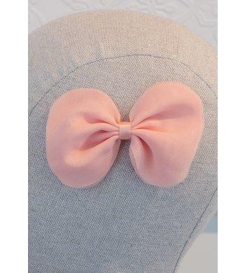 Abel & Lula hairclip with bow blush roze