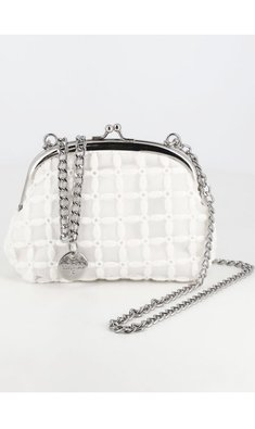 Abel & Lula bag embroided white