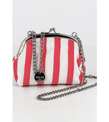 Abel & Lula bag striped red white