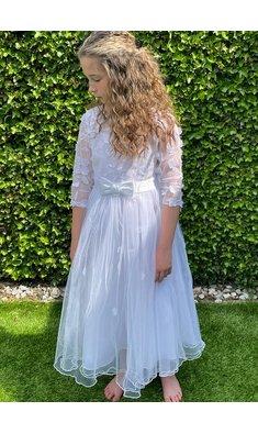 Bonnie Jean jurk bruidsmeisje wit