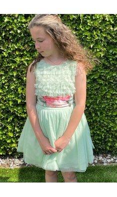 Amaya party dress soft green