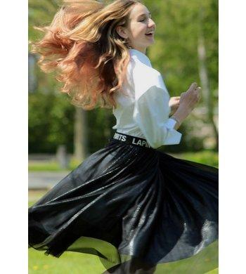 Lapin House tulle skirt black