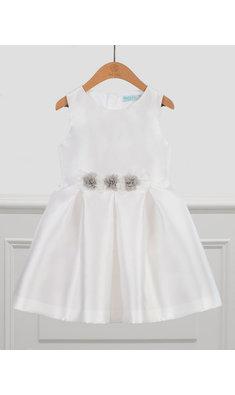 Abel & Lula jurk voor bruidsmeisje white