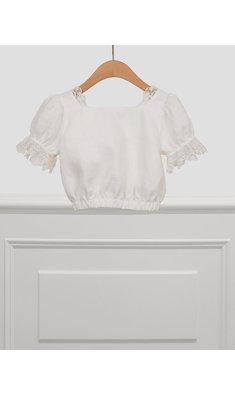 Abel & Lula linnen blouse offwhite