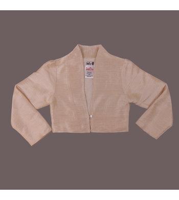 LoFff Jacket Jacquard Pink goudbeige