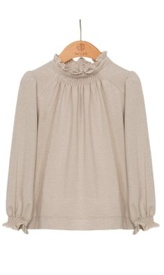 Abel & Lula top with gold